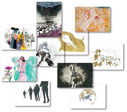 哀しみのベラドンナ複製原画画像